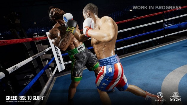 <i>Creed</i> VR is Coming to the PS4, Bringing Young Rocky Along