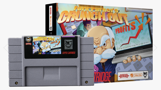 "Devolver Digital's New SNES Title Addresses the Plague of ""Crunch"" While Raising Money for Charity"