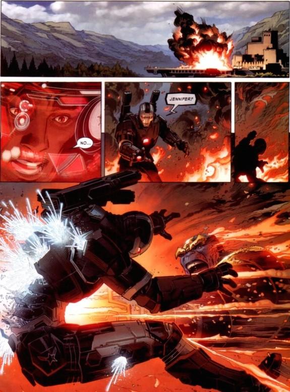Civil War II comic panel