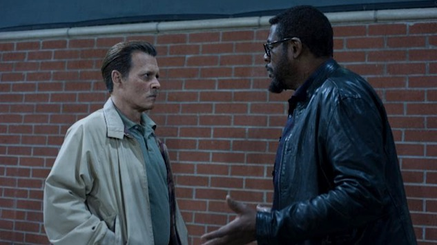 Johnny Depp and Forest Whitaker Try to Solve Biggie Smalls's Murder in <i>City of Lies</i>