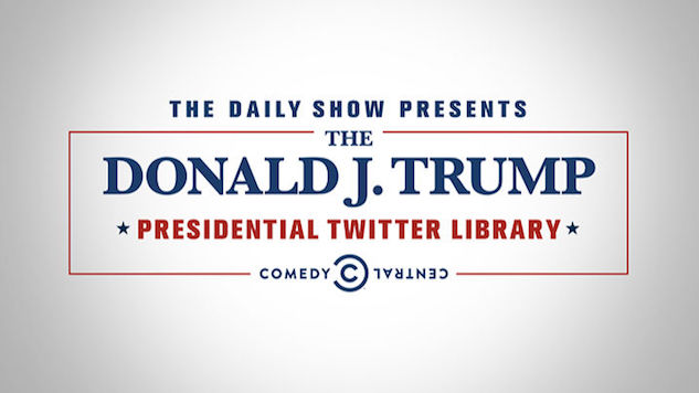 <i>The Daily Show</i>'s Presidential Twitter Library Is Moving to Chicago