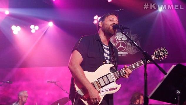 "Dan Auerbach Performs ""Stand By My Girl"" and ""Cherry Bomb"" on <i>Kimmel</i>"