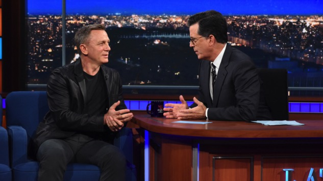 lt's Official: Daniel Craig Will Return as James Bond, Star Says on <i>Late Show</i>