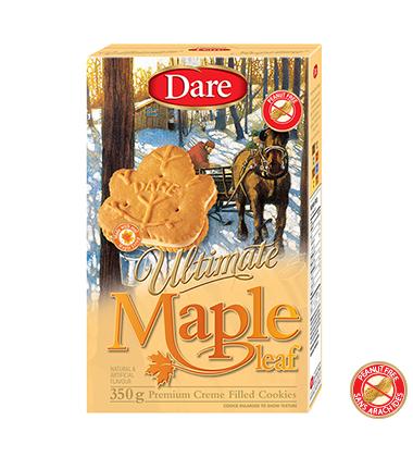 Dare Maple Leaf cookies