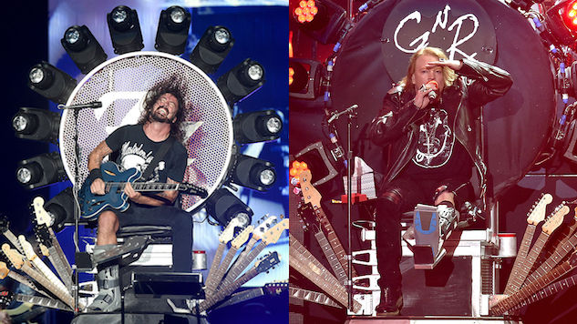 "Watch: Dave Grohl Joins Guns N' Roses to Perform ""Paradise City"""