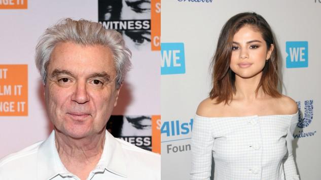 """David Byrne Personally Approved Selena Gomez's """"Psycho Killer"""" Sample"""