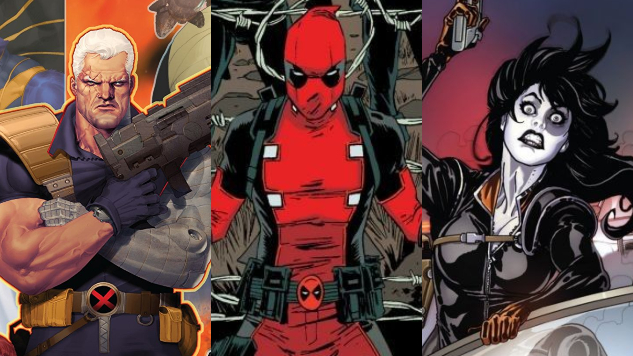 "Meet the ""Heroes"" of <i>Deadpool 2</i> in These 10 Comic Books"