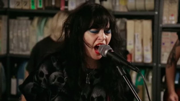 Watch Death Valley Girls' Dark Punk Set at the Paste Studio