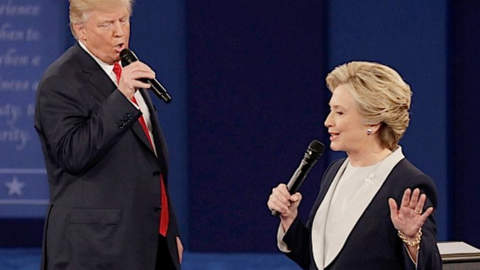The Funniest #DebateKaraoke Tweets, Featuring Trump and Clinton Serenading One Other
