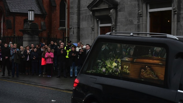 Dolores O'Riordan Funeral Opens Three Days of Mourning in Ireland