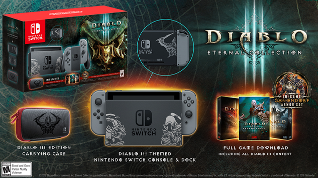 <i>Diablo 3: Eternal Collection</i> Will Get Its Own Nintendo Switch Bundle