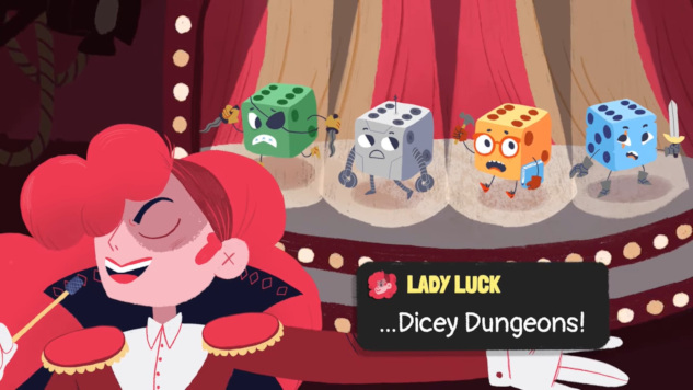 Watch the Launch Trailer for New Roguelike Deckbuilding Game <i>Dicey Dungeons</i>