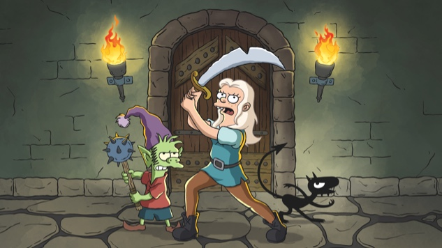 Matt Groening Takes Us to the Past in First <i>Disenchantment</i> Teaser