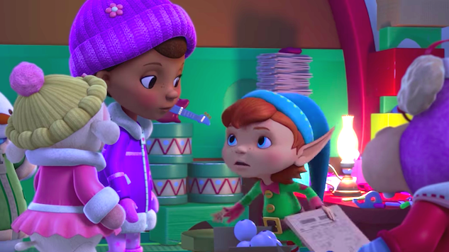 Exclusive: Tony Hale Returns as Tobias the Elf in <i>Doc McStuffins</i>' Christmas Special