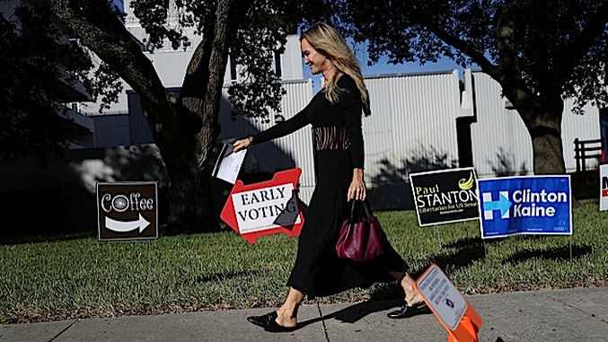 Five Great Reasons to Vote Early