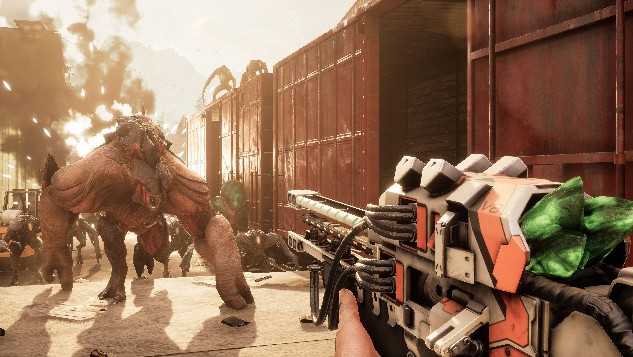 Co-op Alien Shooter <i>Earthfall</i> Out Today with