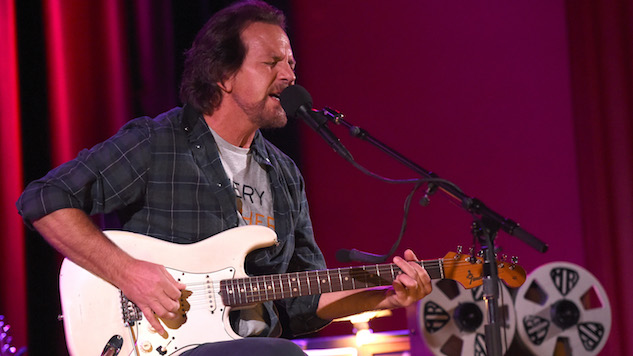 Watch Eddie Vedder Perform with Johnny Marr, Liz Phair at Ohana Fest