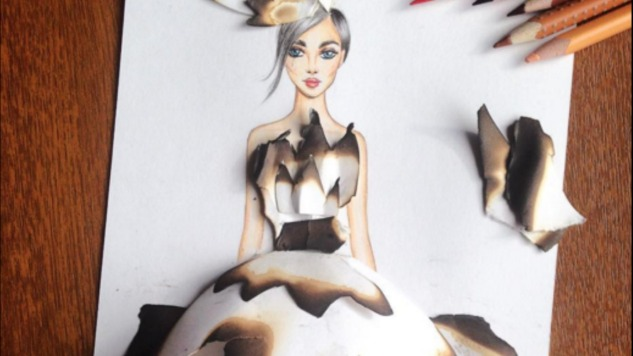 Artist Creates Fantastical Dresses out of Nature and Found Objects