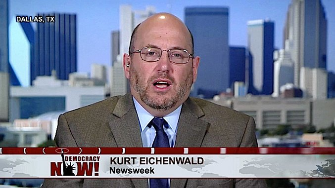 Did <i>Newsweek</i>'s Kurt Eichenwald Use Threats and Bribery to Silence a Young Journalist?