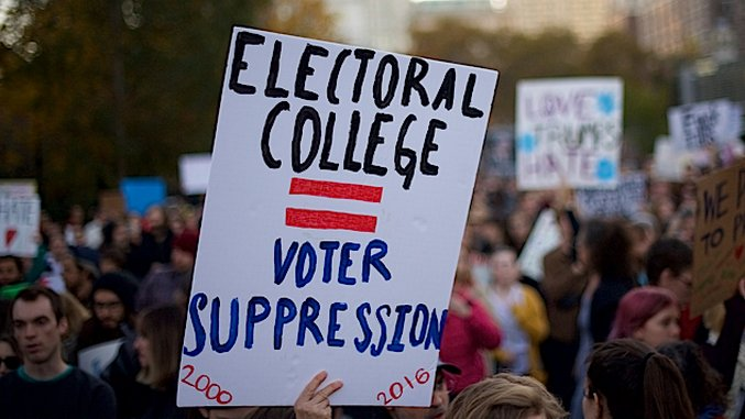Here's What Would Have to Happen for the U.S. to Ditch the Godawful Electoral College