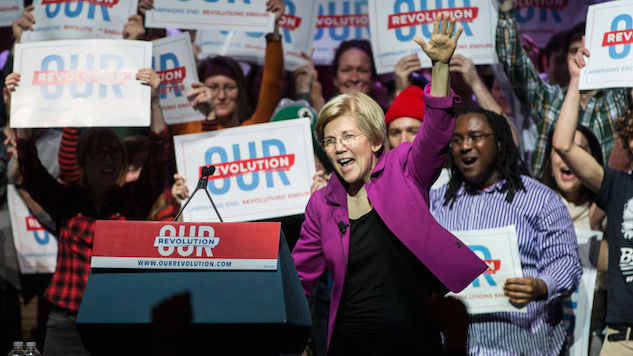 "Elizabeth Warren Introduces Bill to Ban So-Called ""Right-to-Work"" Laws"