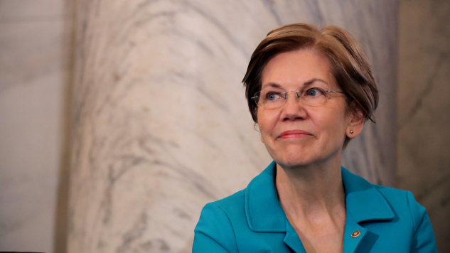 Trump Welcomes Elizabeth Warren Presidential Run