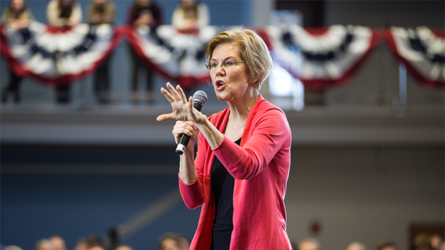 Elizabeth Warren Wants Strict Penalties for Those Who Spread Voting Disinformation