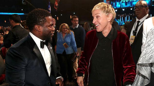 Ellen Degeneres Wants Kevin Hart Reinstated as Oscars Host