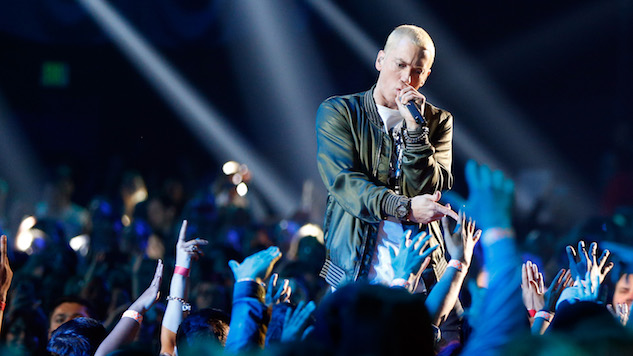 "Eminem Opened a ""Mom's Spaghetti"" Pop-Up Restaurant to Promote <i>Revival</i>"