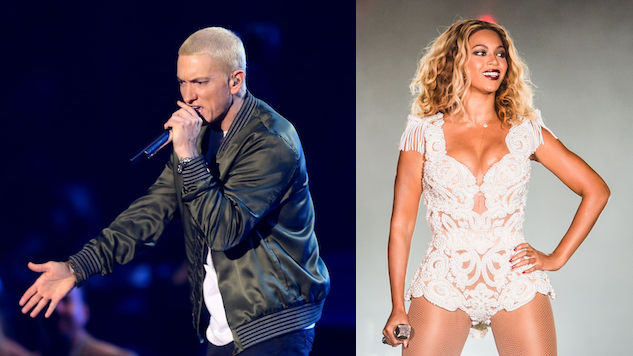 """Eminem Finally Unveils New Single """"Walk On Water,"""" Feat. Beyonce"""