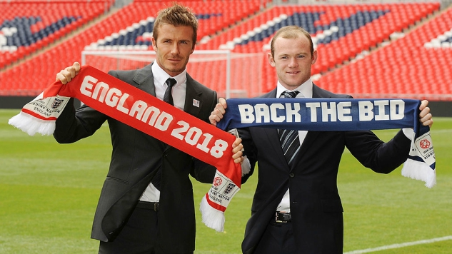 The Former British Spy Behind The Trump Memos Was Involved With England's 2018 World Cup Bid