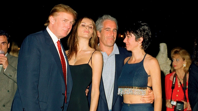 Trump Was Alone at a 1992 Party with 28 Girls and Accused Sex Trafficker Jeffrey Epstein
