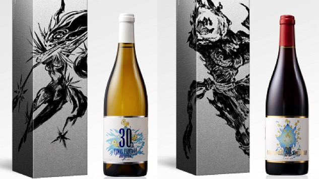<i>Final Fantasy</i> 30th Anniversary Commemorative Wine Will Be a Thing