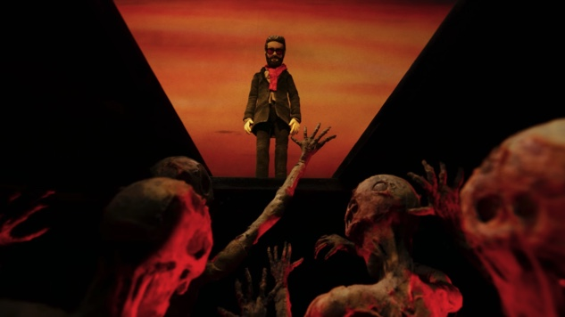 """Father John Misty Crosses Over in Stop-Motion Video for New Single """"Please Don't Die"""""""