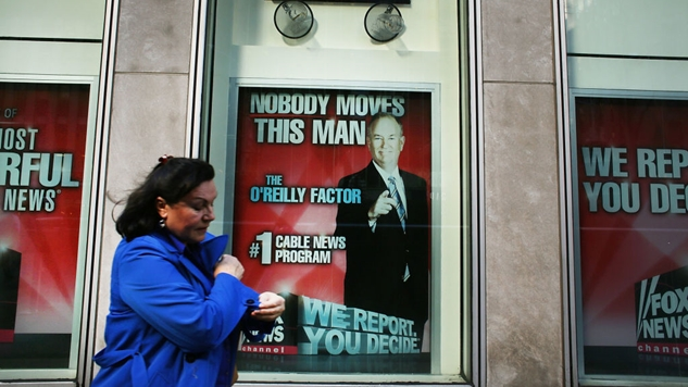 Fox News Pundit Says That Fox News Should Get Rid of Bill O'Reilly