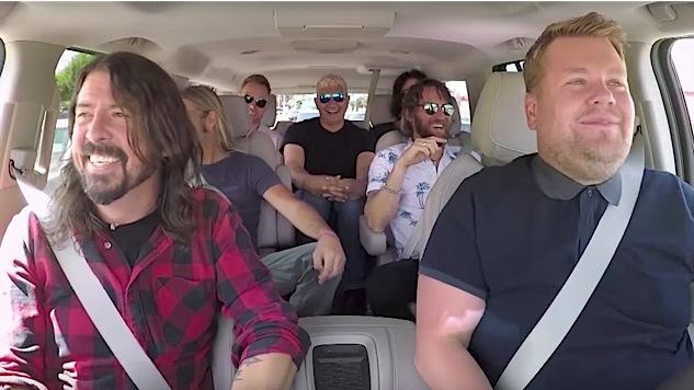 "Watch Foo Fighters Flail Their Way Through ""Carpool Karaoke"""