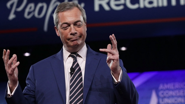 Even Children Can See through Nigel Farage's Fraudulence