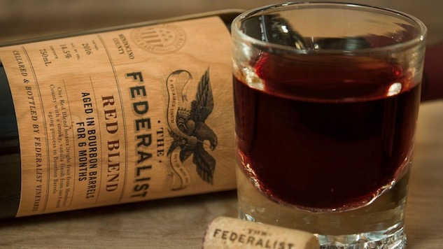 The Federalist Wines are Made for Bourbon (and History) Lovers