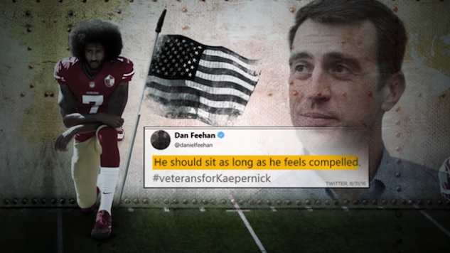 NRCC Ad Attacks Veteran for Supporting Colin Kaepernick