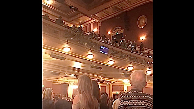 "Man at <i>Fiddler on the Roof</i> Shouts ""Heil Hitler, Heil Trump,"" Audience Flees"