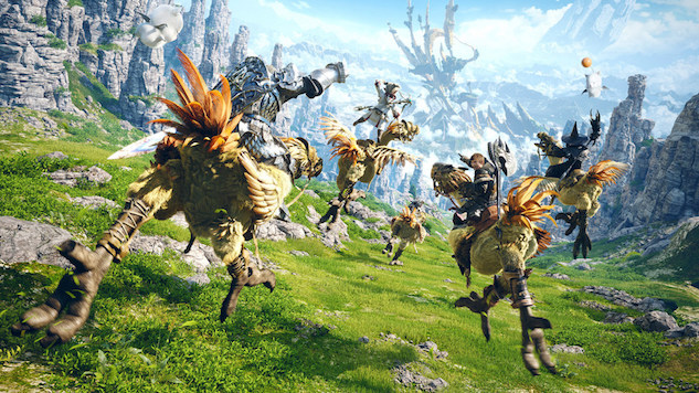 First-Ever <i>Final Fantasy</i> Live-Action TV Series in the Works at Sony