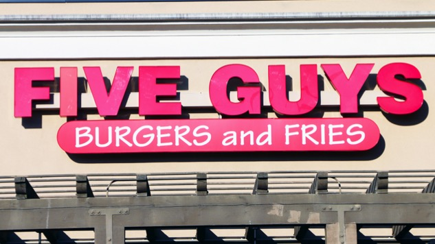Five Guys Usurps In-N-Out as America's Most Popular Burger Chain