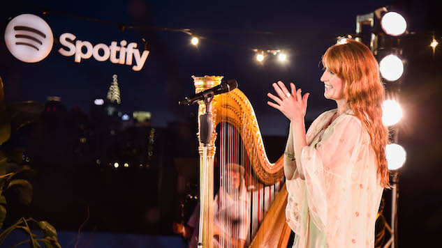 Florence + The Machine Cover Tori Amos in New Spotify Singles Session