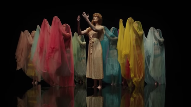 "Watch Florence + The Machine's ""Big God"" Music Video"