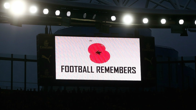 UK PM Theresa May condemns soccer ban on remembrance poppy