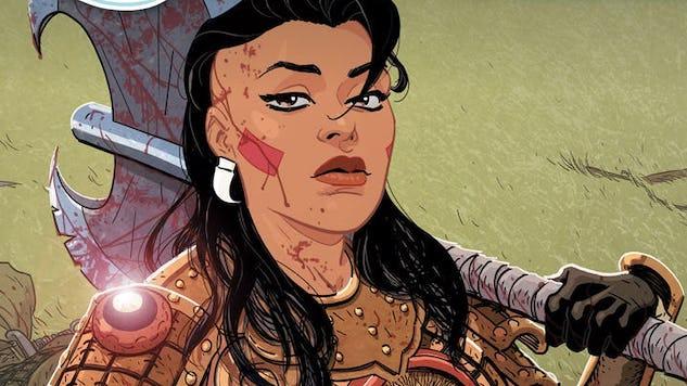 Valiant's War-Monger Returns Next February in <i>The Forgotten Queen</i>