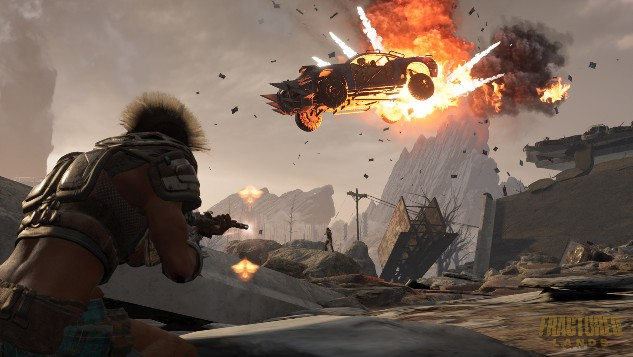 apocalyptic car combat game fractured lands is coming to early