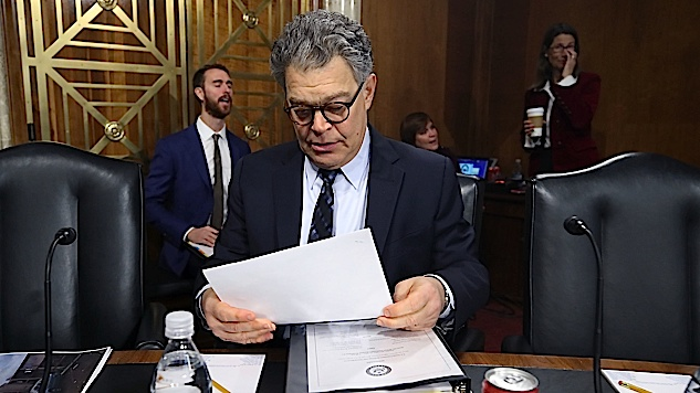 Al Franken Will Resign, Takes Parting Shot at Donald Trump, Roy Moore