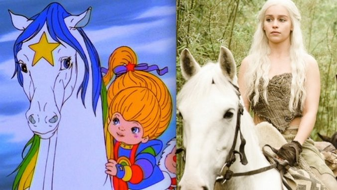 Feeling Meme-ish: <i>Game of Thrones</i>' Khaleesi Meets Rainbow Brite