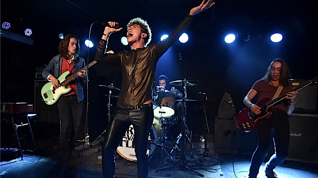 Greta Van Fleet Goes Record Shopping with Paste